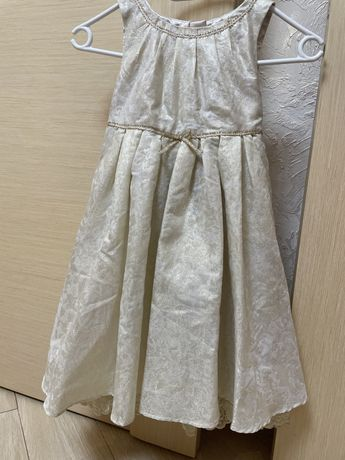 Нарядное платье Monsoon 6-7