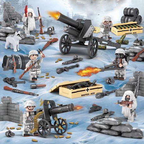 Bonecos minifiguras Coleção Guerra / Militar nº43 (compativel Lego)