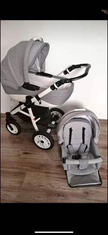 Wózek Adamex pajero 3w1 fotelik Maxi cosi