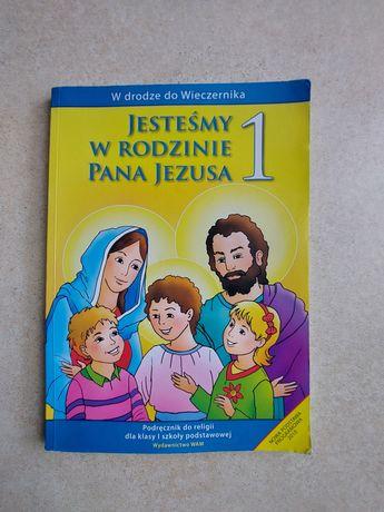 Jesteśmy w rodzinie Pana Jezusa 1 podręcznik do Religii wyd. WAM