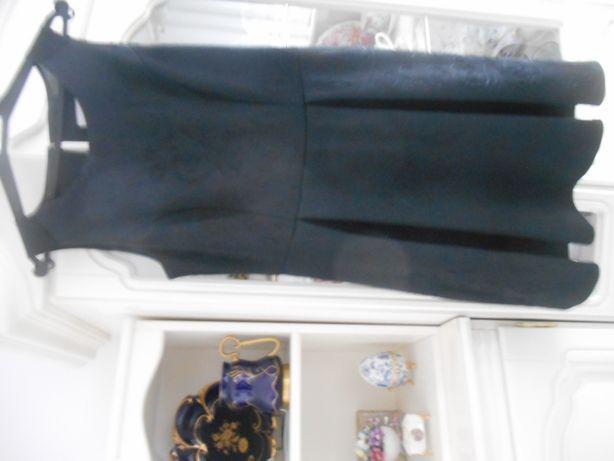 elegancka czarna Sukienka UK 14