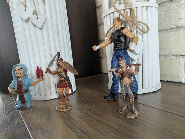 Figurki z gier 4sztuki