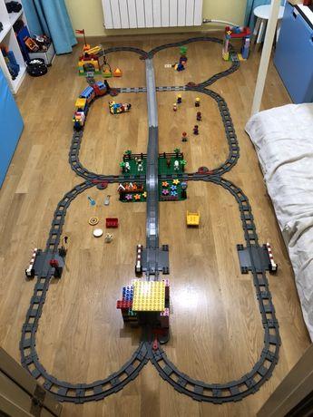 Lego Duplo, Лего Дупло, Железная Дорога, Поезд