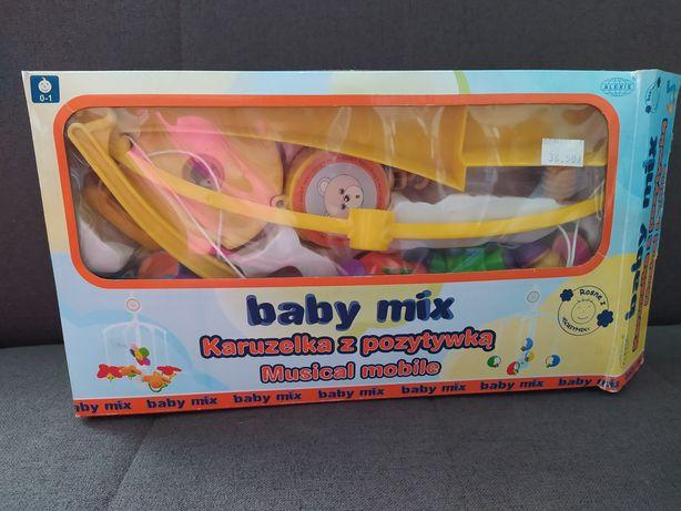 Karuzela z pozytywką Baby mix