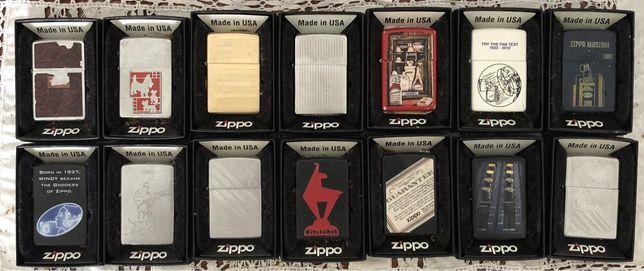 Coleção de isqueiros Zippo