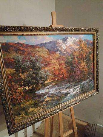 Картина в вітальню. Осінь в Карпатах.