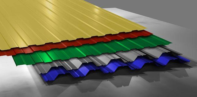 Металопрофіль для паркану та даху від виробника.