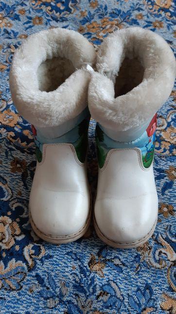 Зимові дитячі черевики р.27
