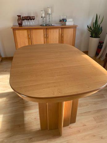 Stół rozkładany kolor olcha, stan b. Dobry 130-210cm