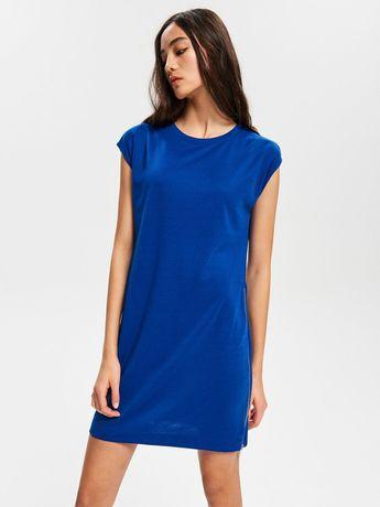 Reserved sukienka chaber rozm L srebrne suwaki