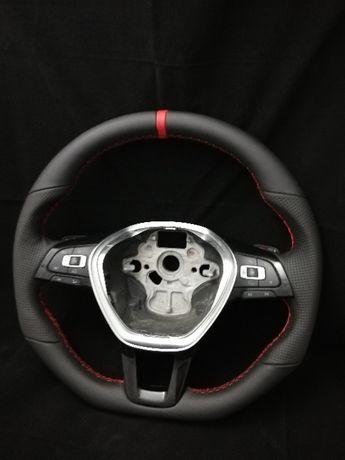 modyfikowana kierownica vw golf 7 robiona na GTI
