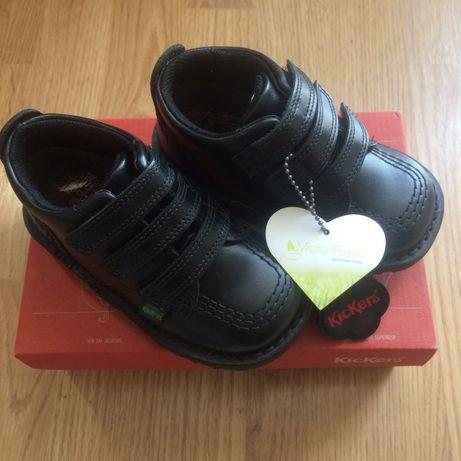 Skórzane buty chłopięce
