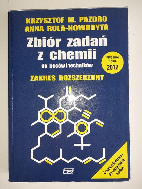 Zbiór zdań z chemii dla liceów i techników. K. Pazdo A. Rola-Noworyta
