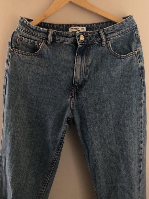 spodnie dżinsowe mom jeans z wysokim stanem Warszawa - image 1