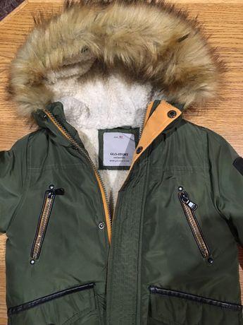 Зимняя куртка Glo-Story с мехом 92-104р.