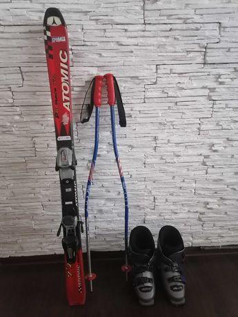 Komplet narciarski dla dzieci narty 120