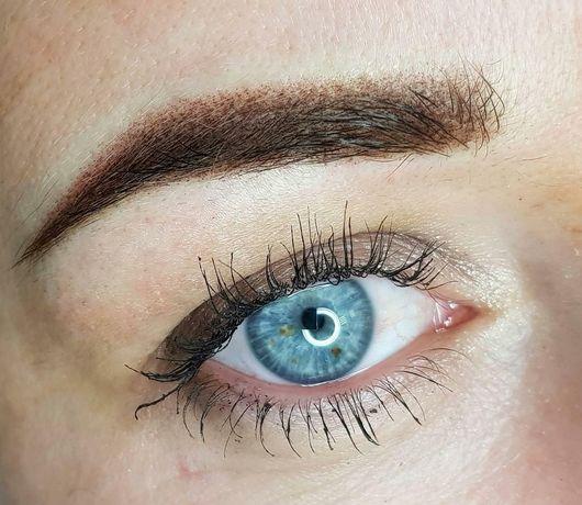 Перманентный макияж и ламинирование бровей
