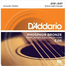 D'Addario EJ15 struny do gitary akustycznej 10-47