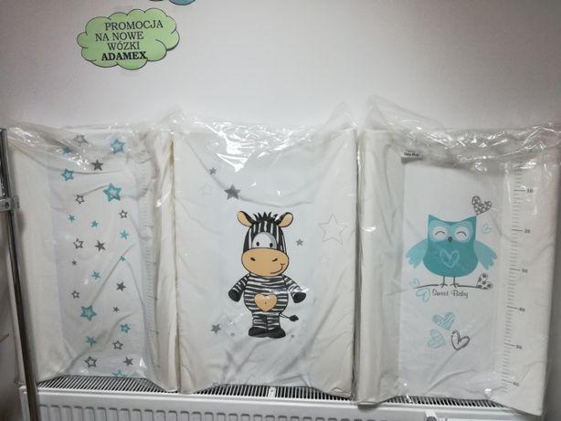 Nowy przewijak usztywniany na łóżeczko dziecięce,różne wzory i kolory