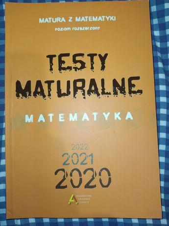 Matura z matematyki. Testy maturalne. Wyd Aksjomat