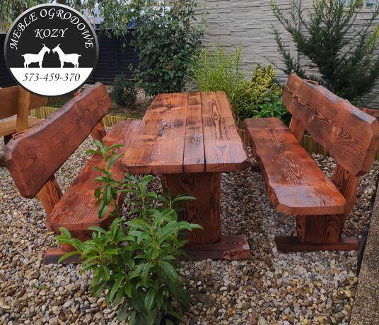 Meble ogrodowe lite drewno 5 cm meble drewniane góralskie producent