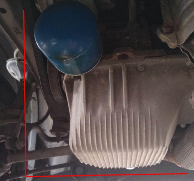 Защита поддона двигателя Хюндай Гетц пластиковая, оригинал, б/у Черноморск - изображение 1