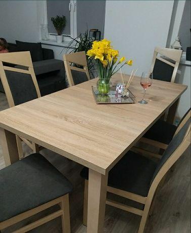 Stół  dąb sonoma  Abra duży rozkładany