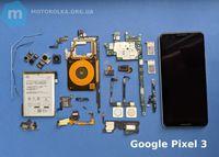 Детали запчасти для Google Pixel 3 и 3 XL разборка гугл пиксель