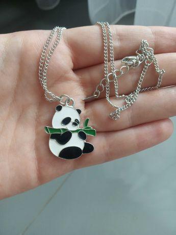 Wisiorek panda