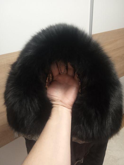 Жіноча красива тепла куртка з красивим коміром Львов - изображение 1