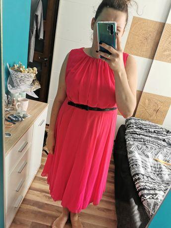 Sukienka elegancka fuksja