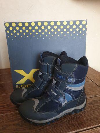 Продам зимові термо чоботи Geox на хлопчика.
