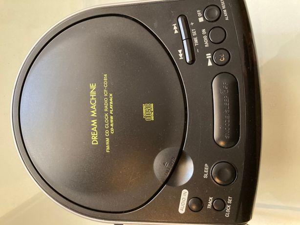 Rádio, leitor CD's Sony e Aparelhagem Silver Crest
