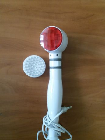 Masażer AEG wibracyjny z lampą kwarcową