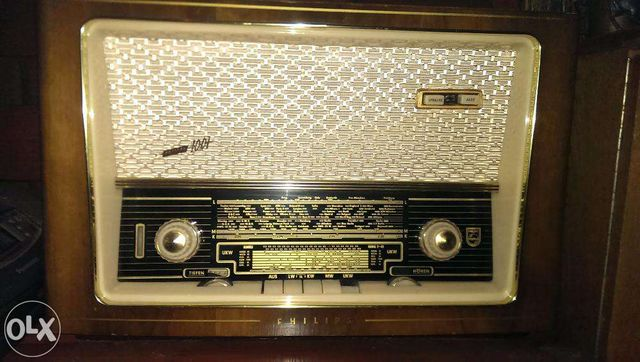 Radio lampowe Philips 1001