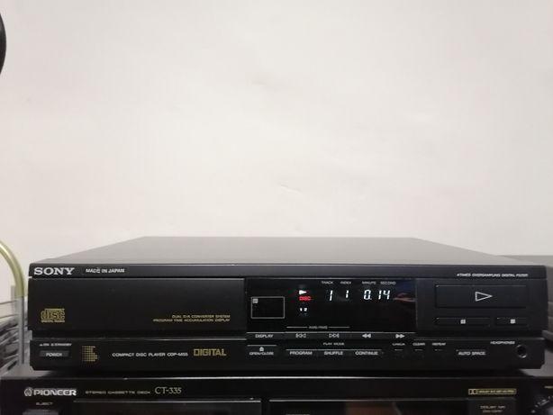Odtwarzacz CD SONY CDP M55 ładny rezerwacja