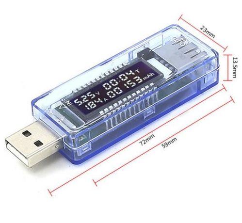 USB тестер Keweisi KWS-V20 вольтметр амперметр зарядок емкости батарей
