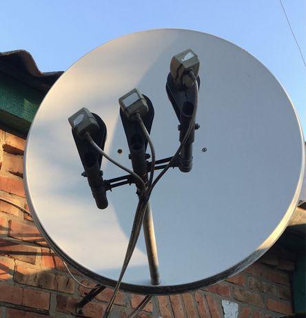 Спутниковая антенну