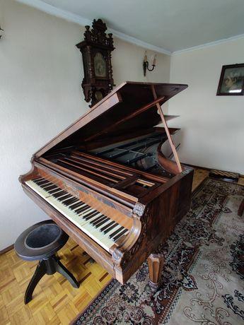 Fortepian Budynowicz drewniany bardzo rzadki