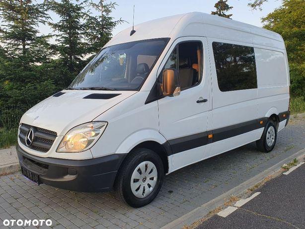 Mercedes-Benz Sprinter 210 CDI  210 CDI * z Niemiec * KLIMA * Brygadówka * 6 osobowy * LKW *