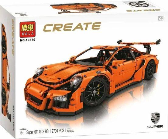 "Конструктор Bela 10570 (аналог Lego Technic 42056) ""Porsche 911 GT3 RS"