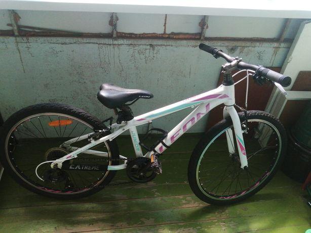 Велосипед спортивно-скоростной LEON на девочек 9-10 лет