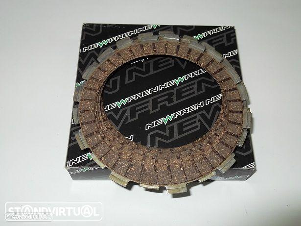 Jogo Discos Embraiagem Honda CB 500,CBF 500,XR 400, TRX 400 SPORTRAX