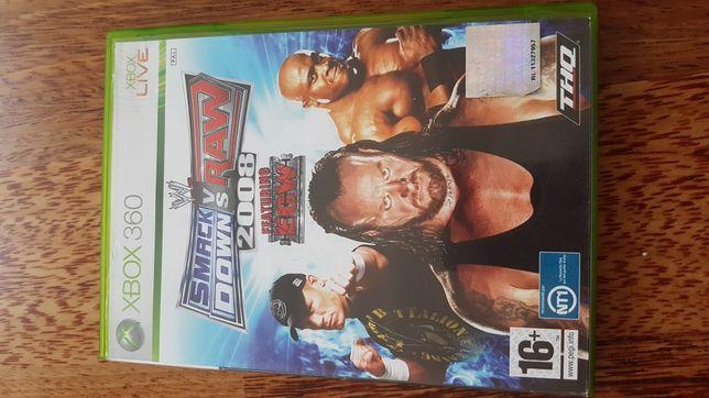 Smackdown vs raw 2008 xbox 360