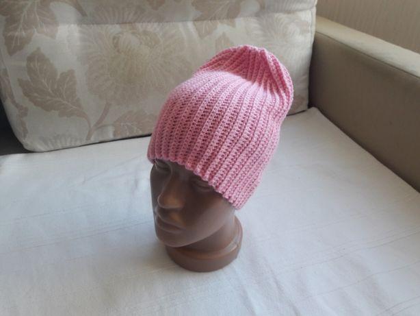 Новая демисезонная шапка бини
