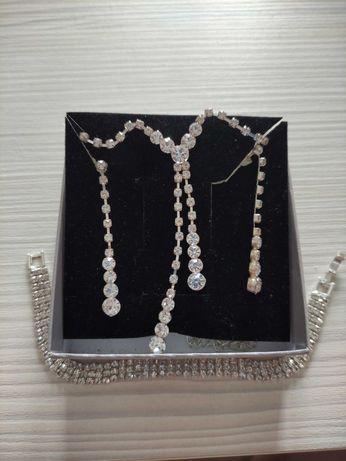Komplet biżuterii okazyjnej