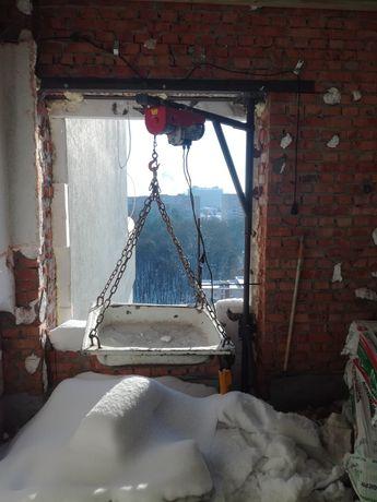 Оренда  Тельфера,Підйомника .віконний ,балконний