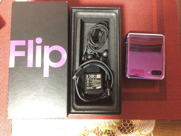 Samsung Galaxy Z Flip 8/256 GB fioletowy