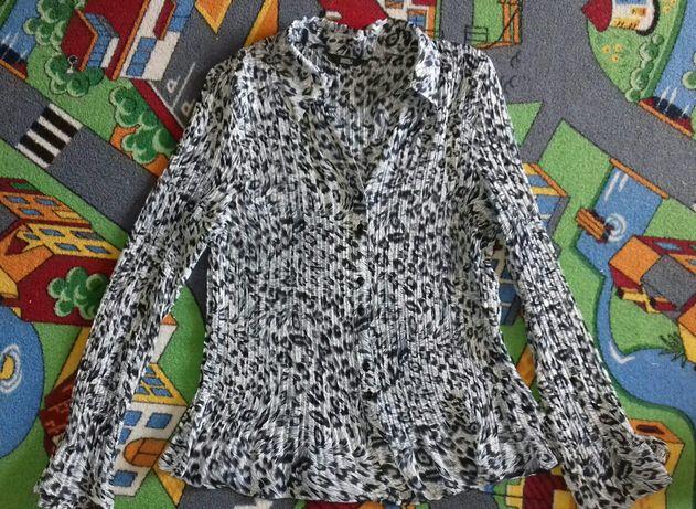 Bluzka plisowana xl