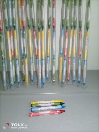 Conjunto de 4 lápis de cera